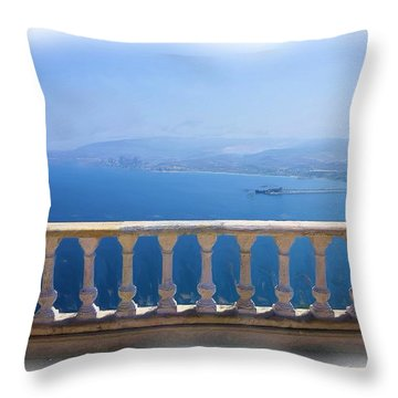 Throw Pillow featuring the photograph Do-00492 Saidet El-nourieh by Digital Oil