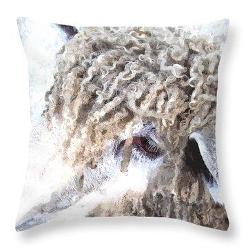 Dolly Dwc Throw Pillow