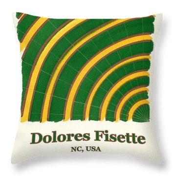 Dolores Fisette Throw Pillow