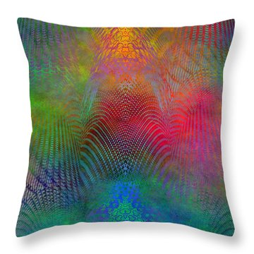 Dont Fence Me In 2 Throw Pillow by Tim Allen
