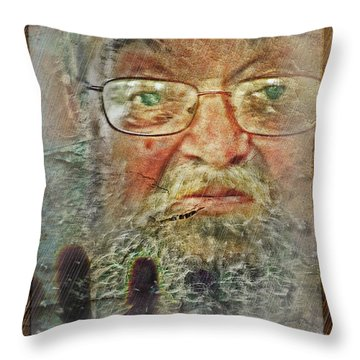 Don't You See Me?  I'm Here. .  Throw Pillow