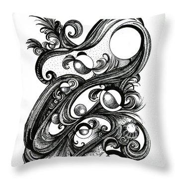 Effusion Throw Pillow