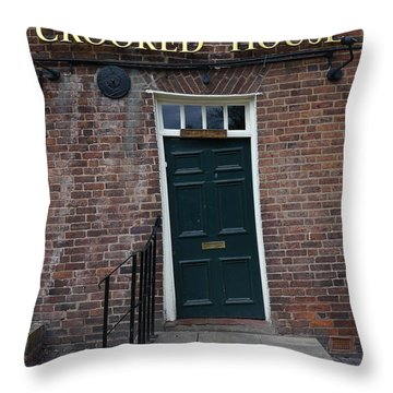 Doorway Detail Throw Pillow by John Chatterley