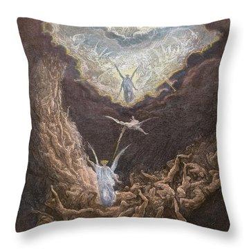 DorÉ: Last Judgment Throw Pillow by Granger