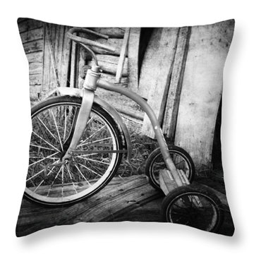 Dormant Child  Throw Pillow by Empty Wall