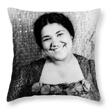 Dorothy Maynor (1910-1996) Throw Pillow by Granger