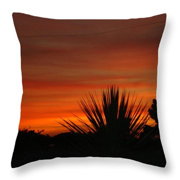 Throw Pillow featuring the photograph Dorset Sunset by Katy Mei