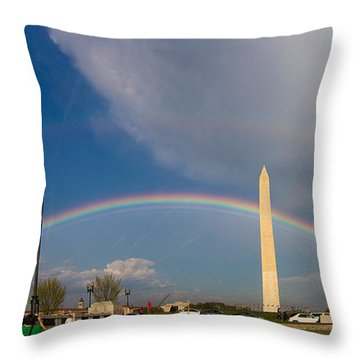Double Promise Throw Pillow by Dan Wells