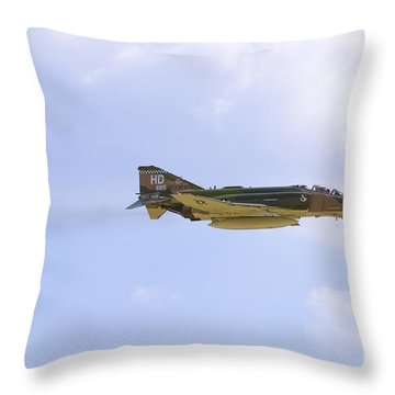 Double Ugly Throw Pillow by Tim Mulina