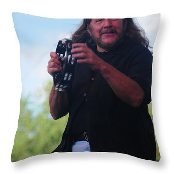 Doug Gray Throw Pillow by Mike Martin