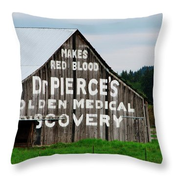 Dr. Pierce Barn 110514.98.1 Throw Pillow