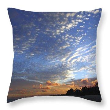 Dramatic Hawaiian Sky Throw Pillow by Vince Cavataio