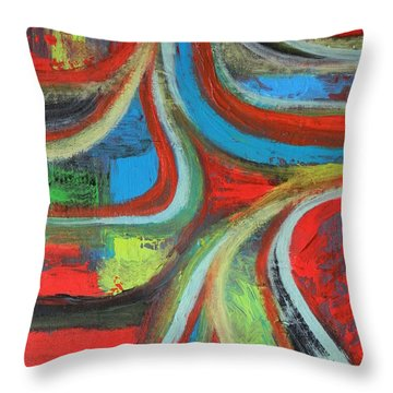 Dream Highway Throw Pillow by Everette McMahan jr