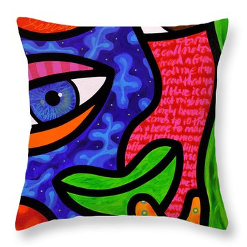 Dream Weavers Throw Pillow