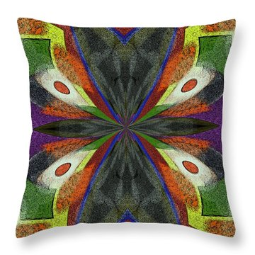 Dream Wings Throw Pillow by Alec Drake