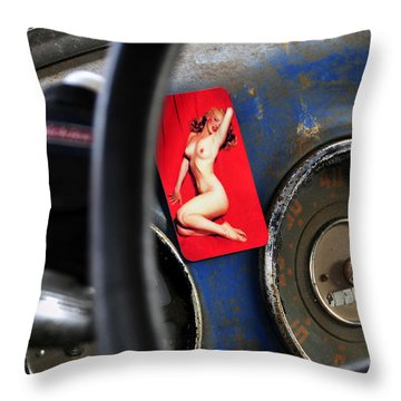 Dreaming Of Marilyn  Throw Pillow by David Lee Thompson