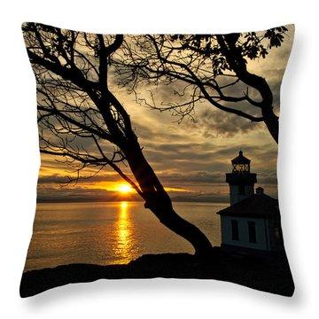 Dreaming Of San Juan Throw Pillow by Dan Mihai