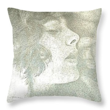 Dreaming Throw Pillow by Rory Sagner