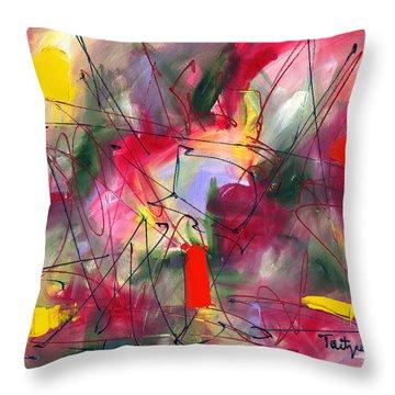 Dreams At Dawn Throw Pillow by Lynne Taetzsch