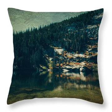 Dreams That Die Throw Pillow by Laurie Search