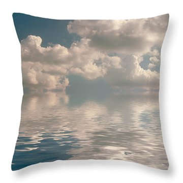 Dreamscape Throw Pillow by Jerry McElroy