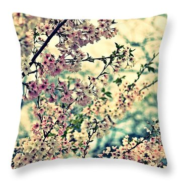 Dreamy Explosion Throw Pillow