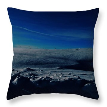 Drifts Of Time Throw Pillow by Jerry Cordeiro