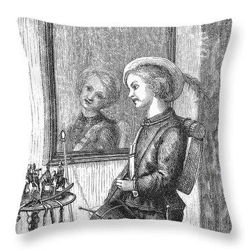 Drummer Boy, 1873 Throw Pillow by Granger