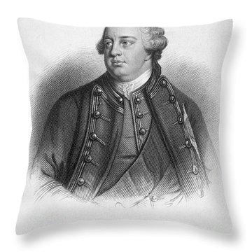 Duke Of Cumberland Throw Pillow by Granger