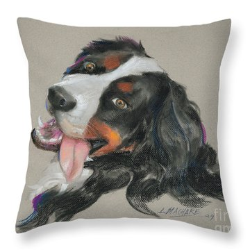 Duncan Throw Pillow by Mary Machare
