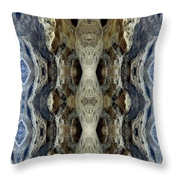 Dunemen Of National Throw Pillow by Nancy Griswold