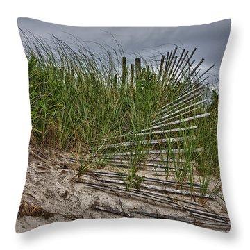 Dunes Throw Pillow by Rick Berk