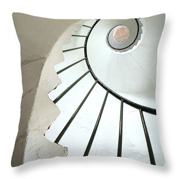 Dunmore East, County Waterford, Ireland Throw Pillow