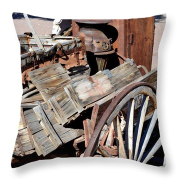 Dust Bowl Throw Pillow