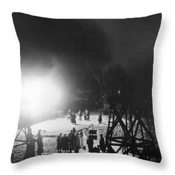 D.w. Griffith (1875-1948) Throw Pillow by Granger