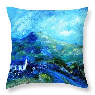 Eagle Hill Lane -ireland  Throw Pillow