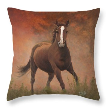 Early Morning Light Throw Pillow