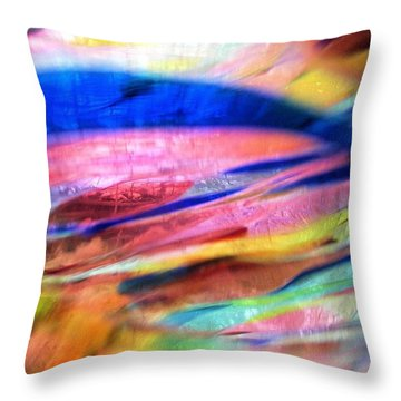 Throw Pillow featuring the photograph Earth And Sky by Carolyn Repka