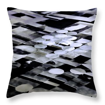 Earth Geometry2 Throw Pillow