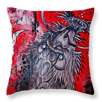 Earth Spirit Throw Pillow