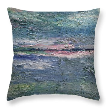 Earthen Series 25 Throw Pillow by Dolores  Deal