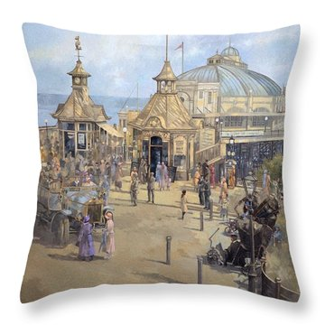 Eastbourne Throw Pillow by Peter Miller