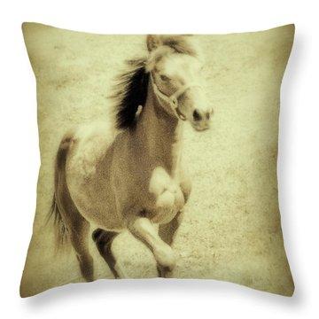 Easy Spirit Throw Pillow by Karol Livote