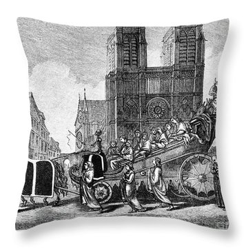 Ecclesiastical Property Throw Pillow by Granger