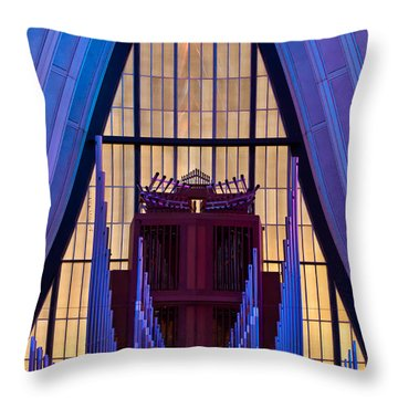 Echo Of The Pipes Throw Pillow