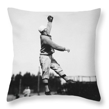 Eddie Grant (1883-1918) Throw Pillow by Granger