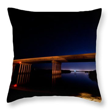 Edge Of Morning Throw Pillow by Christopher Holmes