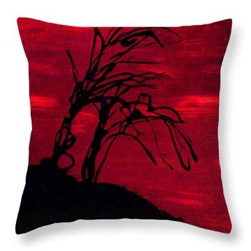 Edge Of Night Throw Pillow