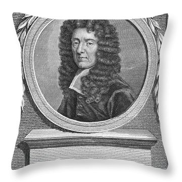 Edmund Waller (1606-1687) Throw Pillow by Granger