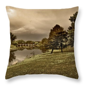 Eery Day Throw Pillow